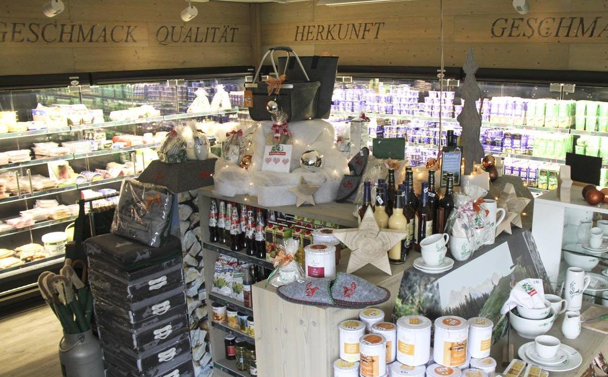 Bergbauernmilch Milchladen 3