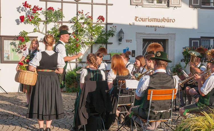Heimatabend Musikkapelle Piding Standkonzert