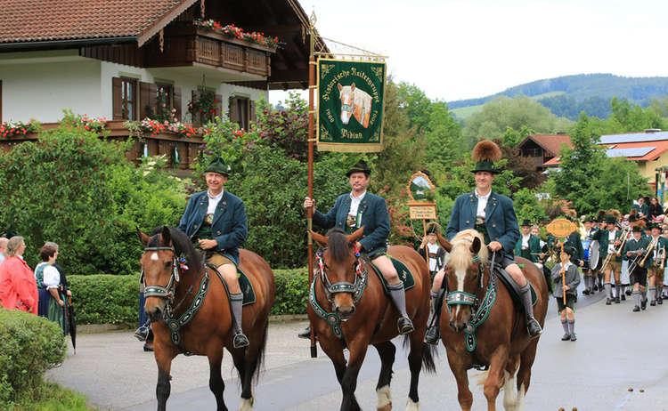 Historische Reitergruppe Piding