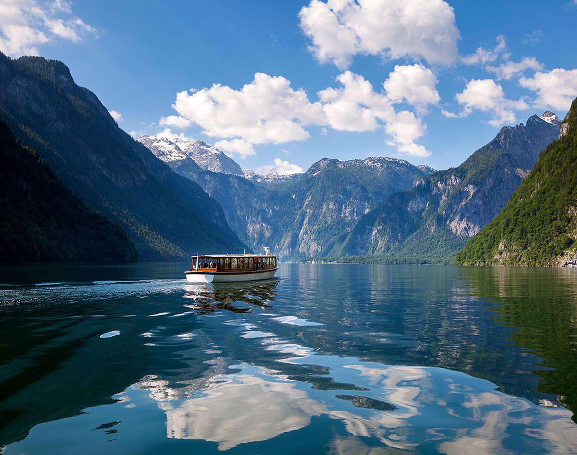 Schifffahrt Koenigssee Berchtesgaden Ausflugsziele