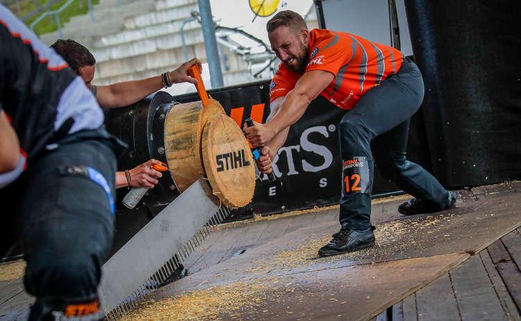 Stihl Timbersports Single Buck