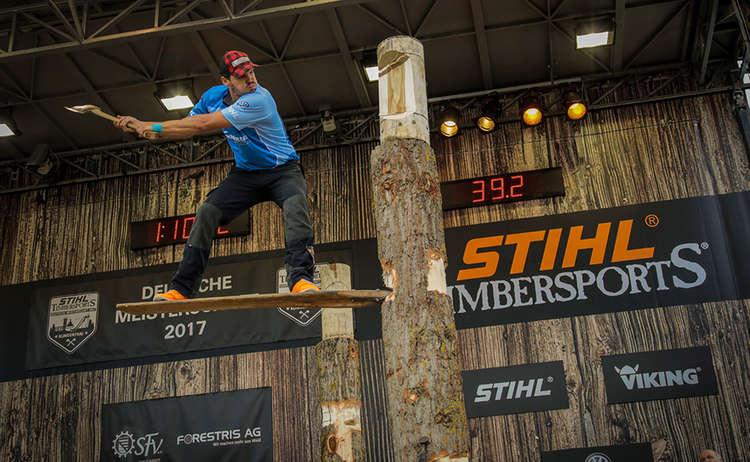 Stihl Timbersports Springboard
