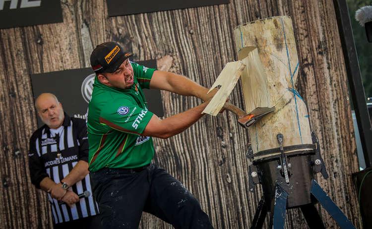 Stihl Timbersports Standing Block Chop