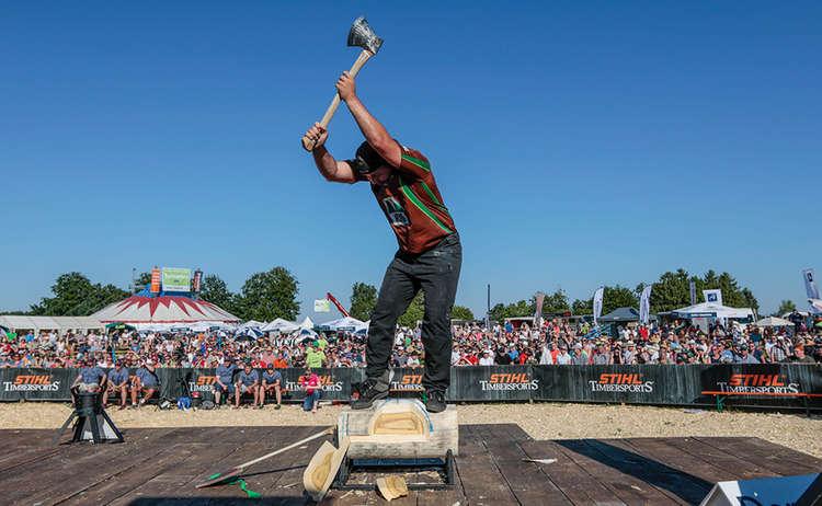 Stihl Timbersports Underhand Chop