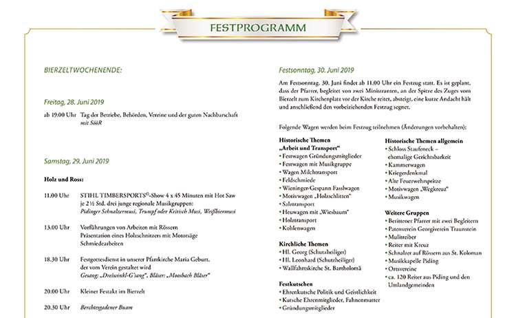Teaser Festprogramm