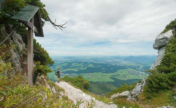 Hochstaufen Von Schloss Staufeneck Roha Fotothek