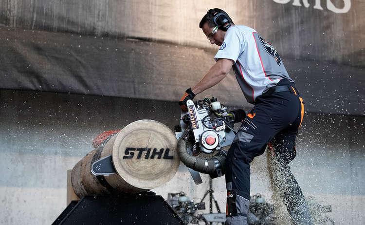 Hot Saw Stihl Timbersports Piding